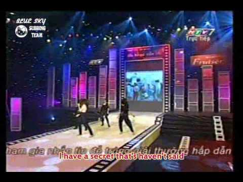 Thuy Tien - Bi Mat Cua Em (ANCT #4 live) Eng subs/HQ