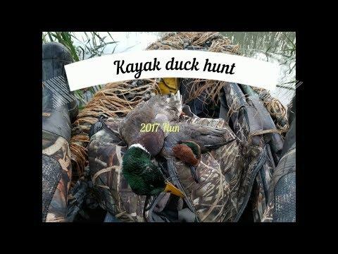 2017 kayak duck hunt #1