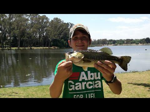 Bass Fishing At [homestead Dam]