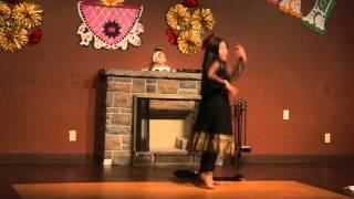 ANOUSHKA DANCE PERRFORMANCE tcs DIWALI 2014