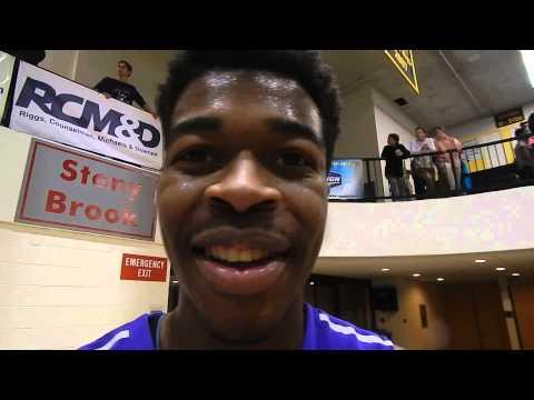 Mount St. Joseph basketball Jordan McNeil 2/24/14