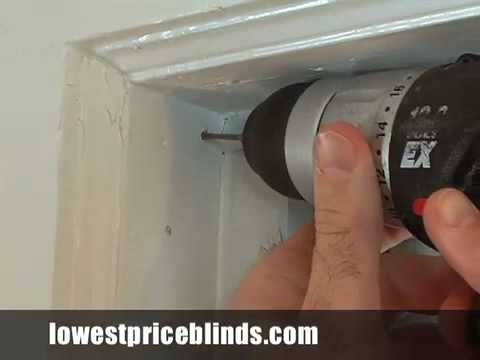 how installing blinds in installation blind the plan cheap for wood diy vertical bedroom to best window install