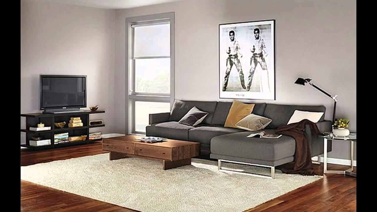 It's likely you and your guests will spend countless hours in this room, discussing and entertaining. Modern living room furniture for small spaces - YouTube