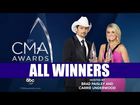 CMA Awards 2017 - All Winners | Country Music Awards 2017 | ChartExpress Mp3