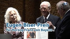 Eugen-Biser-Preis 2019 für Herzog Franz von Bayern