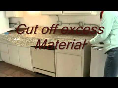 Instant Granite Install Countertops Youtube