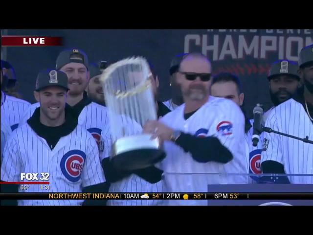David Ross addresses Cubs fans after final season