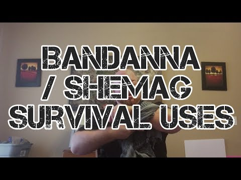 Bandana / Shemagh Survival Uses