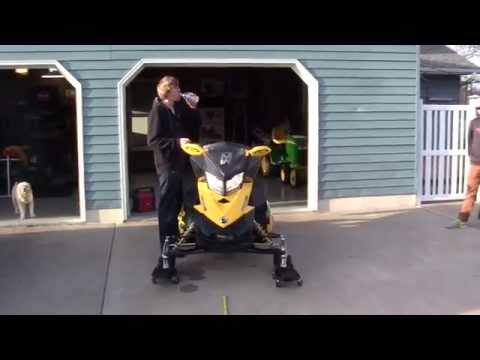 Ski Doo 800 Jaws Trail Can