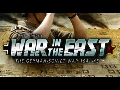 Gary Grigsby's War In The East - Let's Play / Tutorial - Road To Minsk - Episode 1 Gameplay