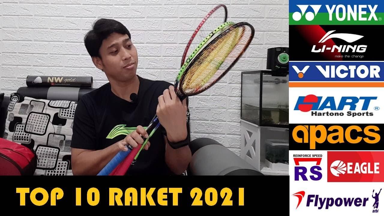 Download Top 10 Raket Badminton Terlaris 2021