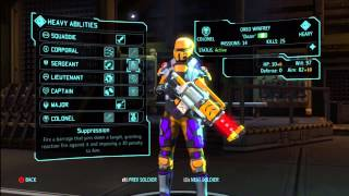 XCOM: Enemy Within -  Heavy Class Guide and Skills walkthrough/tutorial/tips