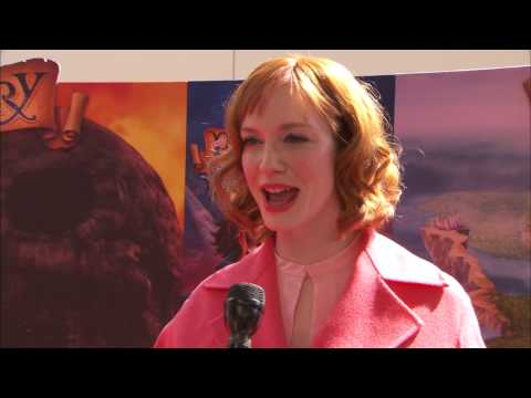 "Tinker Bell and The Pirate Fairy: Christina Hendricks - Voice of ""Zarina"" Premiere Interview"