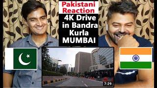 Drive In Mumbai Bandra Kurla In India | Bandra Kurla Complex | Diamond Market | Pakistani Reaction