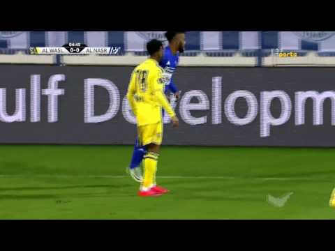 Al Nasr 1 x Al Wasl 2 AG League Round 16 16-17 with English commentary by Pedro Brandao Correia