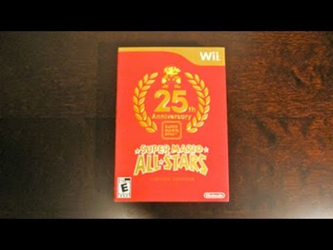 Super Mario All-Stars 25th Anniversary Limited Edition Unboxing (Wii)