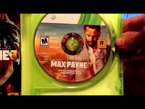 Unboxing Max Payne 3