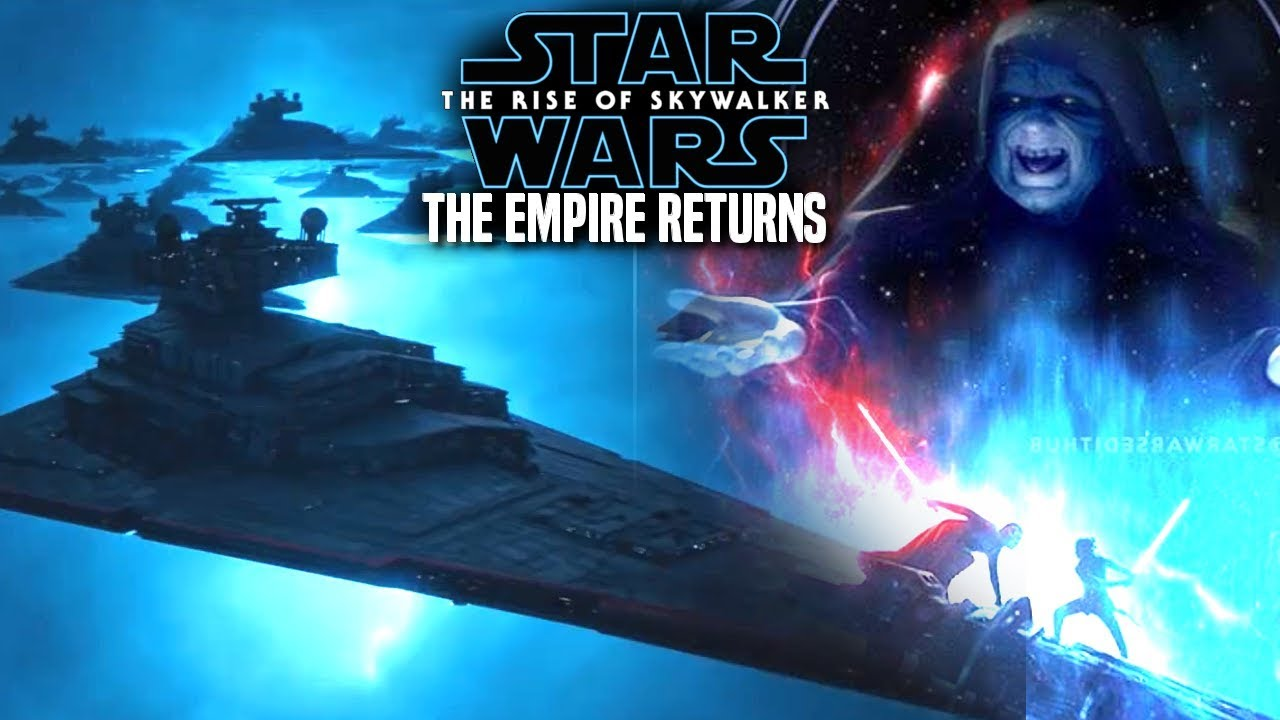 The Rise Of Skywalker The Empire Returns Confirmed Star Wars Episode 9 Youtube