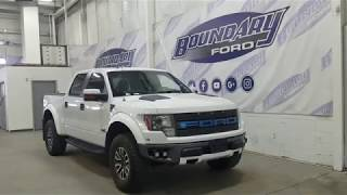2012 Ford F-150 SuperCrew Raptor W/ SVT 6.2L, Sun Roof Overview | Boundary Ford