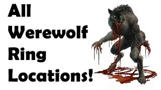 Skyrim - ALL WereWolf Ring Locations Guide - YouTube