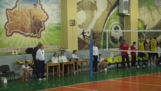 Волейбол. Шахтер - БАТЭ-БГУФК. Игра 1 (25.03.2017)