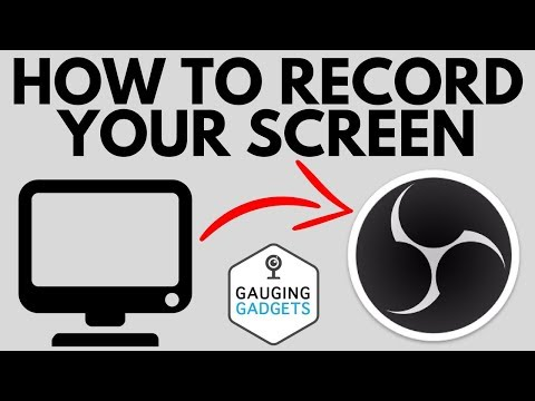 How To Record Your Computer Screen With OBS - Quick Tutorial