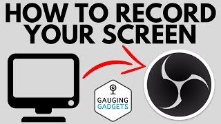 How To Record Y๐ur Computer Screen With OBS - Quick Tutorial