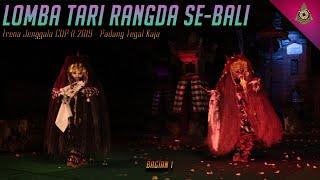 Lomba Tari Rangda SE Bali Trena Jenggala CUP II 2019 Padang Tegal Kaja Bagian 1