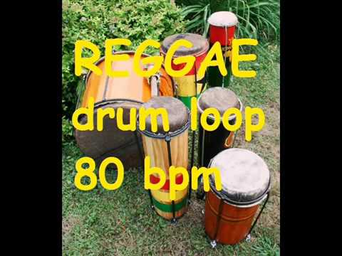 Reggae Drum loop #1 - 80 bpm