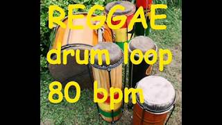 Reggae Drum loop #1 - 80 bpm