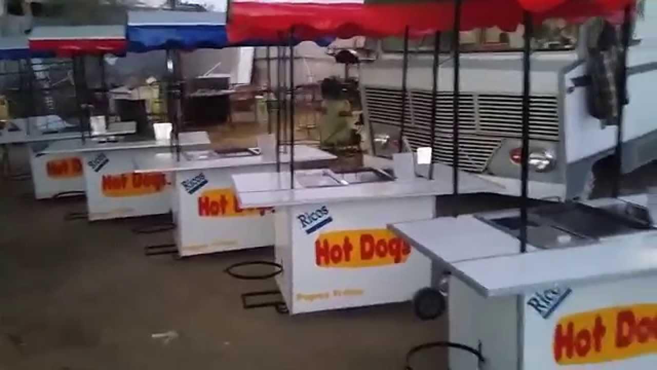 Carritos para hot dogs y hamburguesas carritos www for Carritos y camareras de cocina