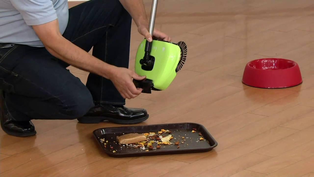 Hardwood Floor Sweeper Vacuum Part - 47: EasyEdge Lightweight Hard Floor Sweeper On QVC - YouTube