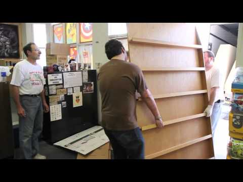 How to Move A Comic Book Store