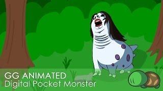 gamegrumps animated digital pocket monster