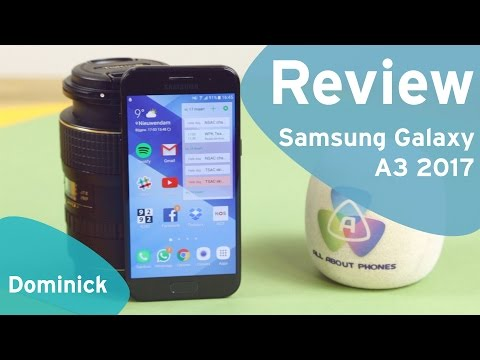 Samsung Galaxy A3 2017 review (Dutch)