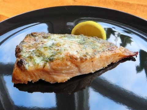 Quick And Easy Baked Salmon With Tarragon Recipe