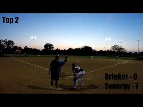 League night action! - Columbia B League - Justin Brinker vs Synergy Sports