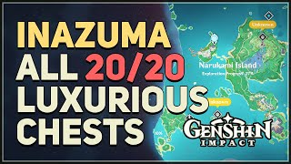 All 20 Inazuma Luxurious Chest Locations Genshin Impact