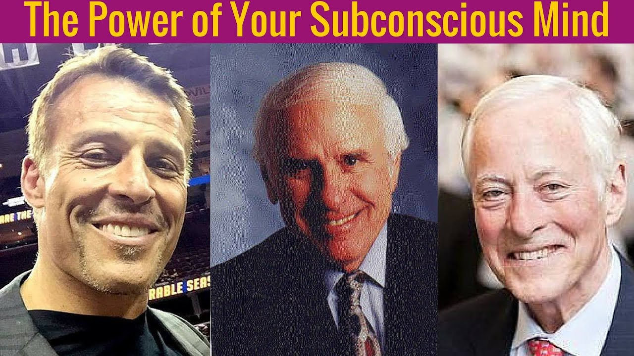 [NEW] Brian Tracy, Jim Rohn , Tony Robbins -The Power of Your Subconscious  Mind