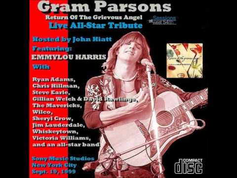 Gram Parsons All Star Tribute Sessions At West 54th Sony Music Studios New York City Sept  19, 1999