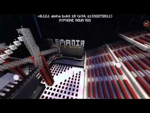 Minecraft PE WWE Arena Wrestlemania 31