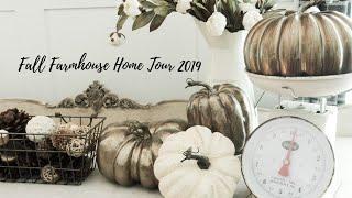 Fall Farmhouse Home Tour /collab 2019