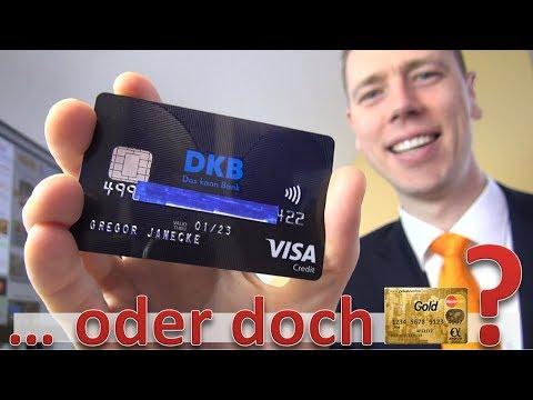DKB Visa Card im Vergleich mit Mastercard Gold ► Gewinner?