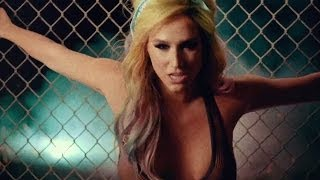 "Kesha Strips in ""Dirty Love"" Music Video Without Iggy Pop"