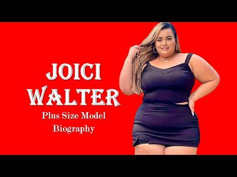 Joici Walter   Plus Size Model   Bio, Lifestyle, Net Worth   Curvy Model   Fashi