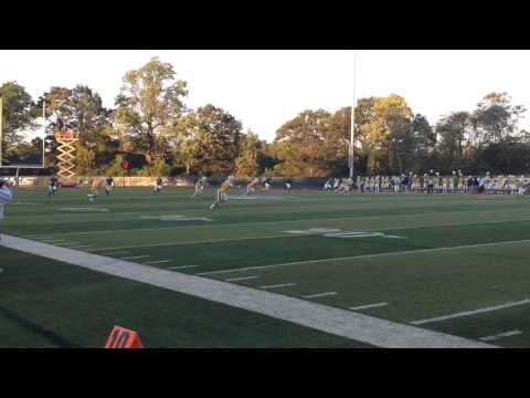 Sights and sound from Wagner College's 26-0 football win Saturday night