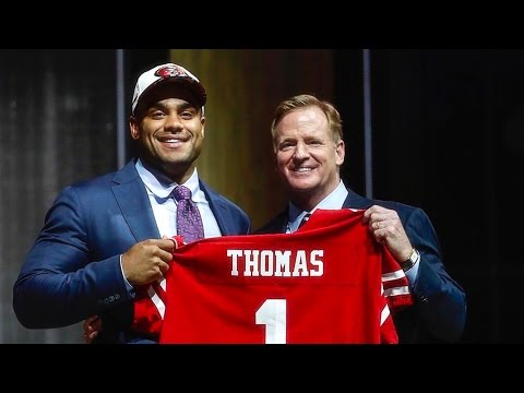 Live! Watching 2017 NFL Draft 49ers Fans First Round Reaction Day 1