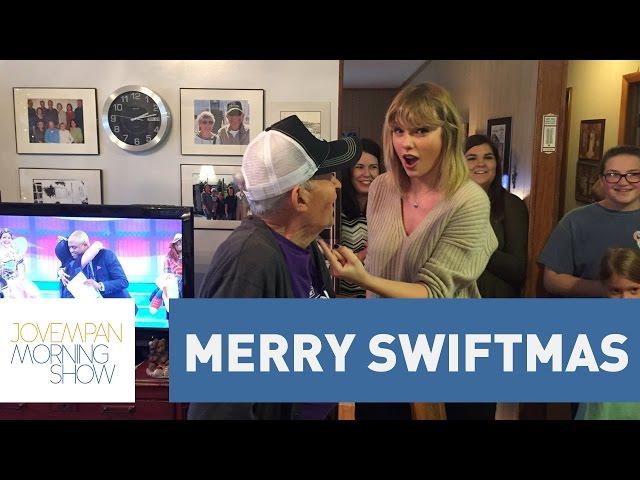 Taylor Swift visita casa de fã de 96 anos | Morning Show