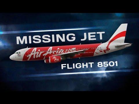 Timeline of missing of AirAsia Flight QZ8501