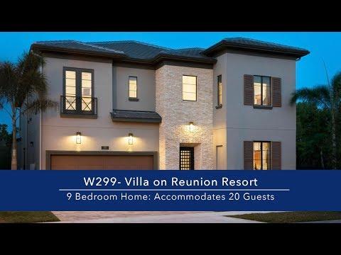 Luxury 9 Bedroom Vacation Villa on Reunion Resort